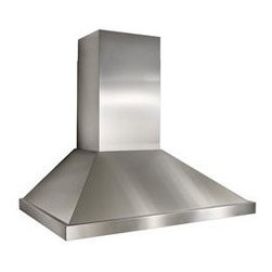 """36"""" Stainless Steel Hood Best by Broan - Modern, minimal, and definitely stylish, this range hood offers great function without demanding attention — after all, you and your guests should be focused on what's going on underneath!"""