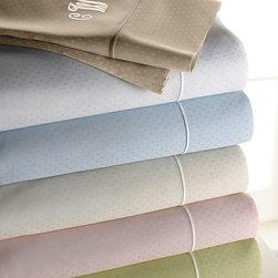 SFERRA - Two Dot Pillowcases Mono. - SFERRATwo Dot Pillowcases Mono.