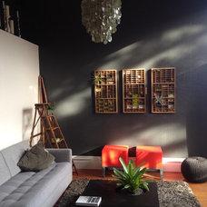 Indoor plant installation