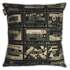 Eclectic Decorative Pillows by Bouf