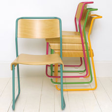 Eclectic Living Room Chairs by Pedlars