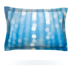 "Kess InHouse - Bree Madden ""Under the Sea Sparkles"" Pillow Sham (Cotton, 30"" x 20"") - Pairing your already chic duvet cover with playful pillow shams is the perfect way to tie your bedroom together. There are endless possibilities to feed your artistic palette with these imaginative pillow shams. It will looks so elegant you won't want ruin the masterpiece you have created when you go to bed. Not only are these pillow shams nice to look at they are also made from a high quality cotton blend. They are so soft that they will elevate your sleep up to level that is beyond Cloud 9. We always print our goods with the highest quality printing process in order to maintain the integrity of the art that you are adeptly displaying. This means that you won't have to worry about your art fading or your sham loosing it's freshness."