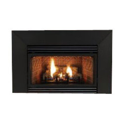 Empire - Vent-Free Thermostat 20000 BTU Fireplace Insert - Liquid Propane - All you need to in order to pick out this Small Innsbrook Vent-Free Gas Fireplace Insert is a desire to get the absolute best heating appliance you can get for your money. Here are a few features this classically-styled insert can bring to your home that other inserts can't match. First of all, this versatile unit can be installed as a zero-clearance fireplace or as an insert in your existing fireplace. The realistic hand-painted ceramic fiber logs create a great look in the hearth while the extremely efficient Slope Glaze burner cranks out up to 20000 BTU's. You'll get the included ultra-quiet, variable speed blower, a built-in thermostat for precise temperature control, and a brick liner that provides a traditional masonry appearance. Besides the bells and whistles, though, this insert also comes with an Oxygen Depletion Sensor to prevent accidents during operation and a 5-year limited warranty for long-term peace of mind. Whatever your needs or expectations may be, the Innsbrook can tackle them all.