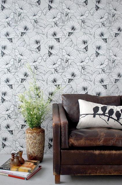 Eclectic Wallpaper by Rebecca Malik