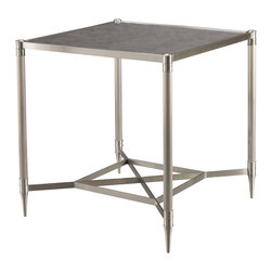 Sherrill Occasional - Sherrill Occasional Square Side Table 962-904 - Just right as a stand-alone accent or in combination with its collection of tables, this stylishly functional square side table adds an elegant aire to both form and function.