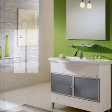 Modern Bathroom by European Cabinets & Design Studios