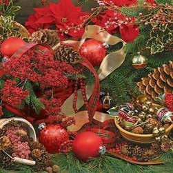 Colors Of Christmas Puzzle - 2000 Piece Jigsaw PuzzleThe fragrant smell of evergreen could seemingly embrace you as you piece together this vivid and challenging image. � Gaetano Images, Inc.