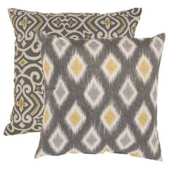 contemporary pillows by Overstock