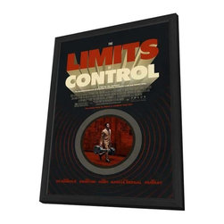 The Limits of Control 11 x 17 Movie Poster - Style A - in Deluxe Wood Frame - The Limits of Control 11 x 17 Movie Poster - Style A - in Deluxe Wood Frame.  Amazing movie poster, comes ready to hang, 11 x 17 inches poster size, and 13 x 19 inches in total size framed. Cast: escar Jaenada
