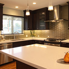 Contemporary Kitchen by Gridley Company