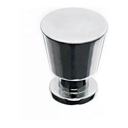 Top Knobs - Chrome Cabinet Knobs, 7/8 in. - Top Knobs item number M550 is a beautifully finished Chrome Cabinet Knob.