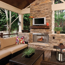Contemporary Porch by Raymac Remodeling