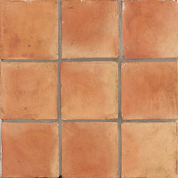 Spanish Handmade Terracotta Tile - Spanish Handmade Terracotta Tile