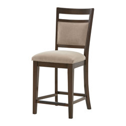 Standard Furniture - Standard Furniture Avion 24 Inch Barstool in Cherry [Set of 2] - Avion Dining has smooth transitional styling that gives it great decor versatility and ensures broad and long lasting appeal.