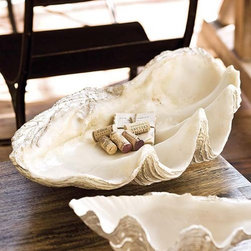 Imperial Clam Shell Interior Display House Decor -