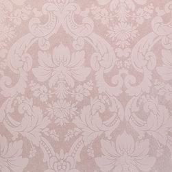 Wallpaper Worldwide - Century Classic - Damask Wallpaper, Pink - Material: Non-woven