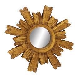 Fantastic Metal Frame Wall Mirror - Description: