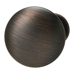 Hafele - Hafele 134.06.101 Bronze Cabinet Knobs - Hafele item number 134.06.101 is a beautifully finished Bronze Cabinet Knob.