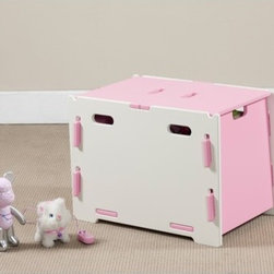 Legare Furniture - Legare Kids Storage Bin - Legare Kids furniture uniquely assembles in 3 minutes or less with no tools and no hardware. Despite the ease of assembly, Legare Furniture is tough enough for a kids room and as easy to assemble the 100th time as the 1st. Unique furniture design that's so easy to use. So easy to put together. So easy to fall in love with. Legare's modular, reversible designs make media, bedroom and office planning simple and infinite. Choose from media centers, beds, dressers, storage, corner and straight desks, bookcases and more. Legare adapts to your space. In just 3 minutes, you can build an entire system with no tools, no screws or bolts and best of all, no hard labor. Made out of the finest materials. Features: -Storage bin. -Legare Kids collection. -Unique design. -Durable, non-toxic and painted finish. -Can accommodate toys, clothes and stuffed animals. -Lid can be closed, or hang on the sides or middle of the box. -Manufacturer provides 3 years warranty.