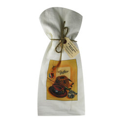 Father's Day   Flour Sack Towel  Set of 2 - A fabulous set of 3 flour sack towels. This set features a wonderful antique Easter print for Father's Day or any day.   These towels are printed in the USA by American Workers!