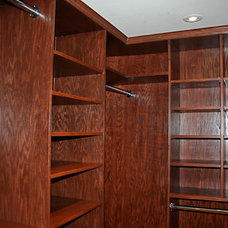 Traditional Closet by North Star Carpentry