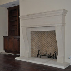 Traditional Fireplaces by Southern Stone Crafters LLC