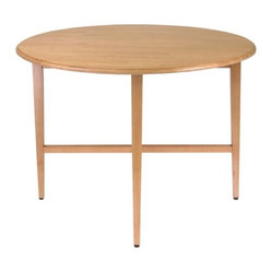 Round Drop Leaf 42 Inch Gate Leg Table