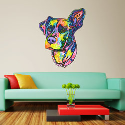 My Wonderful Walls - Keen Dog Wall Sticker - Decal Cut Out, Small - - Keen Dog graphic by Dean Russo