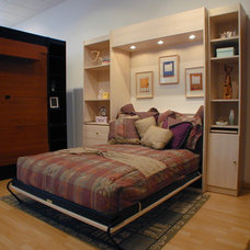 Contemporary Murphy Beds by New England Closet Design, LLC