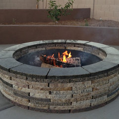 contemporary firepits by Forever Stone LLC