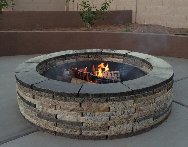 Contemporary Fire Pits by Forever Stone LLC