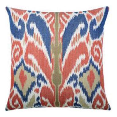 "New Elaine Smith Pillows - Buenos Aires Hacienda Ikat II - 19"" x 19"" Elaine Smith Pillows"