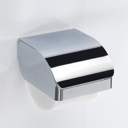 Gedy - Chrome Stainless Steel Commercial Toilet Paper Holder - Part of the Gedy Hotel collection, this toilet tissue holder is essential. Made in and imported from Italy by Gedy, a high-quality, contemporary toilet roll holder that is perfect for modern & contemporary settings. Made in stainless steel cromall and available in chrome. Toilet tissue holder from the Gedy Hotel collection. Made in stainless steel cromall and coated with chrome. High-end modern & contemporary toilet tissue holder for your high-end personal bathroom. Made in and imported from Italy.