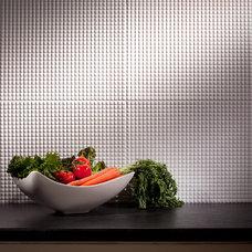 Contemporary Tile by BacksplashIdeas.com
