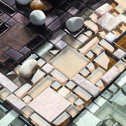 Pucinni glass tile mosaic Rococo series - Pucinni glass tile mosaic Rococo series