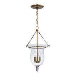 Hudson Valley Lighting - Hudson Valley Lighting 841-AGB Ulster 3 Light Pendants in Aged Brass - This 3 light Pendant from the Ulster collection by Hudson Valley Lighting will enhance your home with a perfect mix of form and function. The features include a Aged Brass finish applied by experts. This item qualifies for free shipping!
