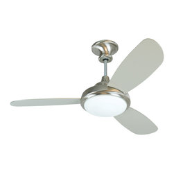 "Craftmade - Craftmade TR352SS3 52"" Ceiling Fan W/Blades & Light Kit - Craftmade TR352SS3 52"" Ceiling Fan w/Blades & Light Kit"