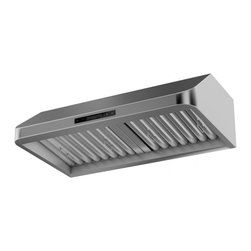 "ZL599-Under Cabinet Mount Range Hood, 30"" - The ZL599- Under Cabinet ..."