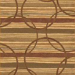 """Dynamic Rugs - Dynamic Rugs Eclipse 68146-3737 (Multi) 6'7"""" x 9'6"""" Rug - The Eclipse rug collection combines warm rich spice colors and natural tones. This collection is woven using a special double pointing technique which results in a rich color palette of endless color shades. These color gradations, combined with universally styled and upscale designs makes this collection a beautiful feature for today's stylish homes. This collection is woven with 100 % EXCELON heat-set polypropylene yarn for soft hand and good pile retention."""