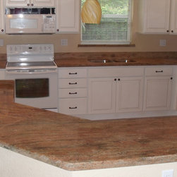 New kitchen with Granite counter top - Florida Granite, Paulo B.