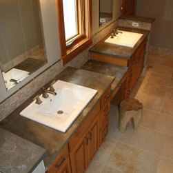 Squak Mountain Stone - Hazel - Recycled content countertops, made in Seattle, WA