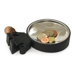 J-Me - Big Head Coin Dish - For those of you who have the serious topic of money on your mind, save your coins in this lighthearted dish and a much-needed smile will come to you. Needless to say, this little banker has got a head for money.