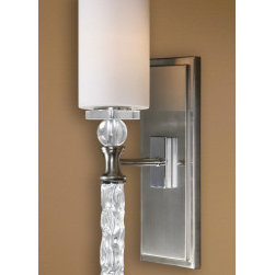 "22486 Campania, 1 Lt Wall Sconce by uttermost - Get 10% discount on your first order. Coupon code: ""houzz"". Order today."