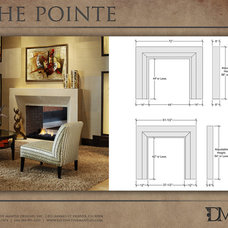 Modern Fireplace Accessories by Distinctive Mantel Designs, Inc