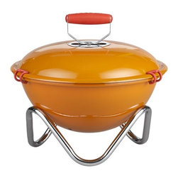 Bodum® Fyrkat Grill - Because you can't be the only sassy thing at your outdoor cookout. Let this bright orange grill take some of the heat of the party too!