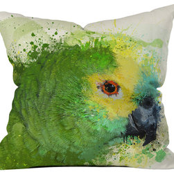 DENY Designs - Msimioni Loro Throw Pillow - Wanna transform a serious room into a fun, inviting space? Looking to complete a room full of solids with a unique print? Need to add a pop of color to your dull, lackluster space? Accomplish all of the above with one simple, yet powerful home accessory we like to call the DENY throw pillow collection! Custom printed in the USA for every order.