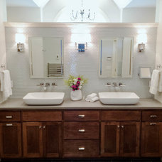 Transitional Bathroom by Total Home