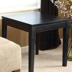 """Bamboogle - Brazil Bamboo End Table - Features: -Brazil collection. -Constructed of solid bamboo. -Intricate bamboo laminations give pattern, intrigue and strength to each piece. -Handmade in China. -Dimension: 21"""" H x 20"""" W x 20"""" D."""