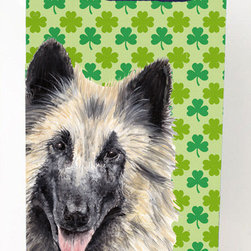 Caroline's Treasures - Belgian Tervuren Shamrock Portrait Michelob Ultra Koozies for slim cans - Belgian Tervuren St. Patrick's Day Shamrock Portrait Michelob Ultra Koozies for slim cans SC9312MUK Fits 12 oz. slim cans for Michelob Ultra, Starbucks Refreshers, Heineken Light, Bud Lite Lime 12 oz., Dry Soda, Coors, Resin, Vitaminwater Energy, and Perrier Cans. Great collapsible koozie. Great to keep track of your beverage and add a bit of flair to a gathering. These are in full color artwork and washable in the washing machine. Design will not come off.