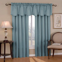 Insola - Insola Carmen Rod Pocket Blackout Window Curtain Panels - Tone-on-tone textural weave blackout window curtain panels have been laboratory-tested to block out over 99% of outside light, up to 40% of unwanted noise and can help to save up to 25% off home heating and cooling costs.